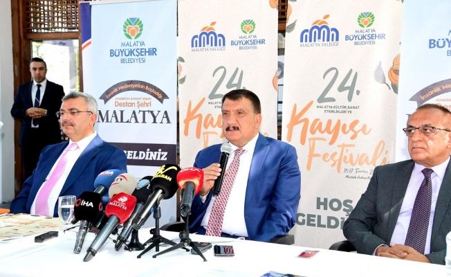 Başkan Gürkan'dan kayısı festivali açıklaması