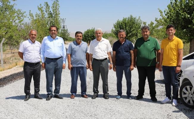 Battalgazi'de 2 mahalleye 2 milyon TL'lik yatırım