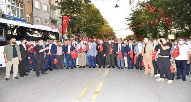 Malatya'da 15 Temmuz etkinliği düzenlendi