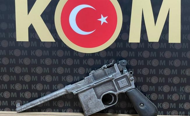 Malatya'da 18. yy. ait yarı otomatik tabanca ele geçirildi