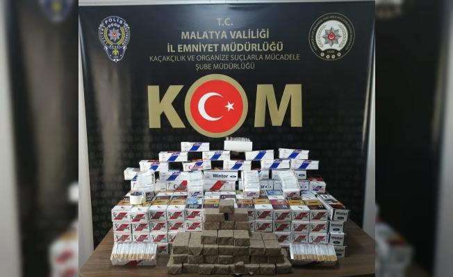 Malatya'da kaçakçılık operasyonları!