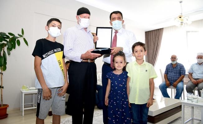 Malatya'da Şehit ve gazi ailelerine ziyaret