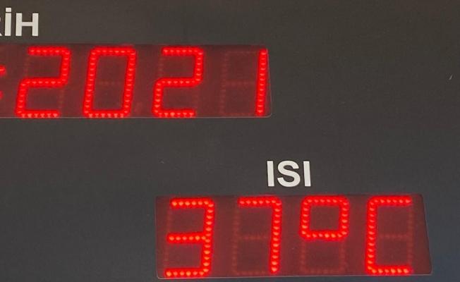 Malatya'da sıcak hava bunaltıyor! Termometreler 40 dereceye yaklaştı