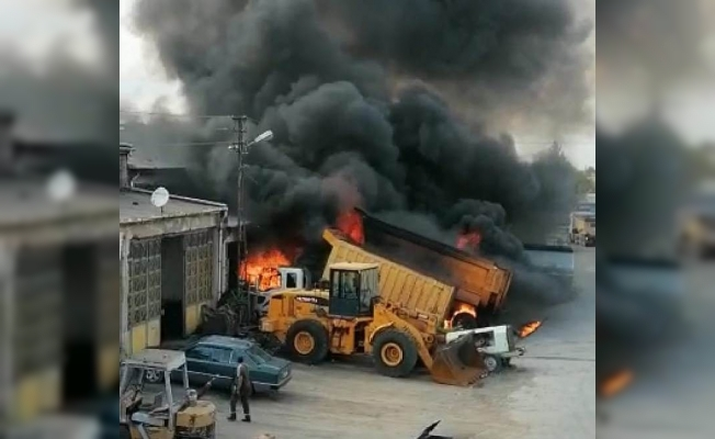 Özsan Sanayi Sitesi'nde patlama: 4 yaralı!