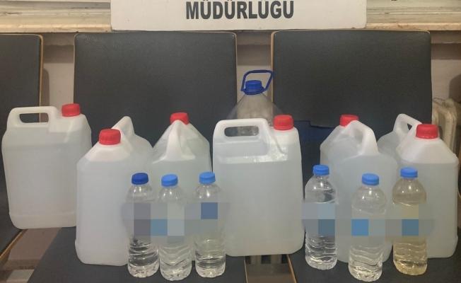 Malatya'da 39 litre kaçak alkol ele geçirildi!