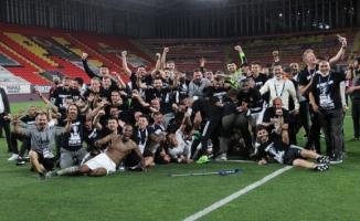 2020-2021 sezonu şampiyonu Beşiktaş!