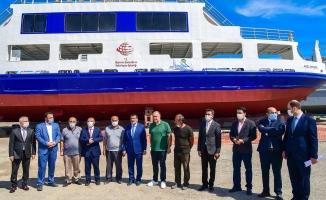 Malatya'da Atabey İskelesindeki feribotlar bakıma alındı