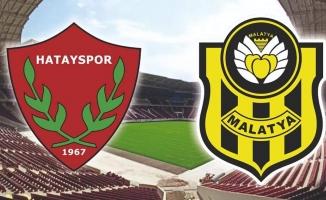 Yeni Malatyaspor ile Hatayspor onuncu kez karşı karşıya geliyor