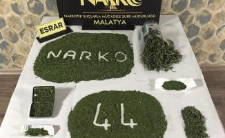 Malatya'da zehir tacirlerine büyük darbe
