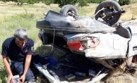 Feci kazada otomobil sürücüsü hayatını kaybetti!