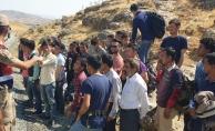 Malatya'da 39 kaçak göçmen yakalandı!