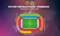 İşte BYMS- Fenerbahçe maçının bilet fiyatları!