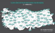 Bakan Koca haritayı paylaştı! Malatya'da korkutan artış!