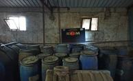 Malatya'da 3 bin 688 litre boğma rakı ele geçirildi
