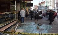 Malatya#039;da bir pastanede patlama: 1 yaralı